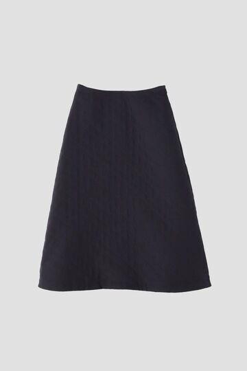 キルティングジャガードスカート