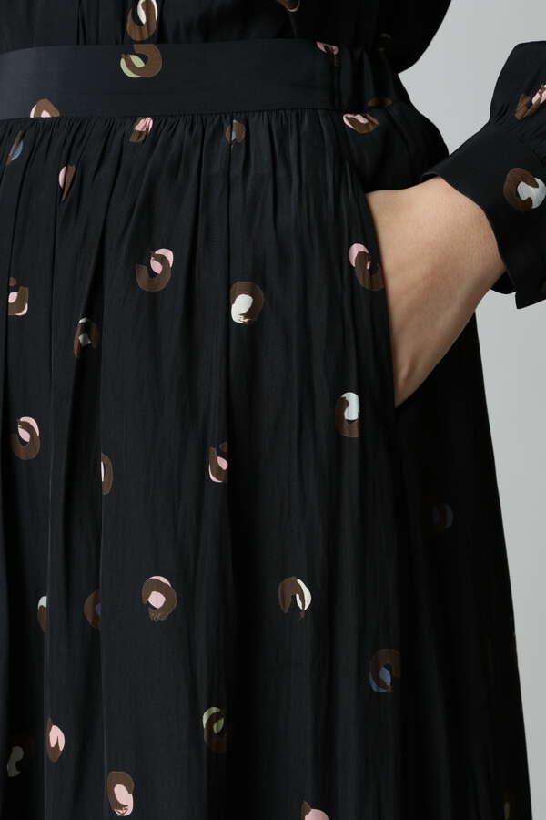 【セットアップ対象】プリントギャザースカート