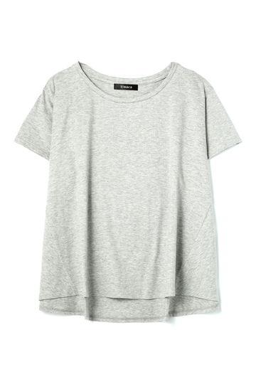 Unaca 天竺フレアTシャツ