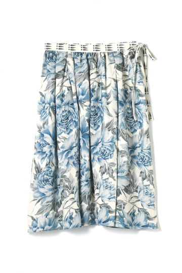 Hermaphrodite リネンフラワースカート