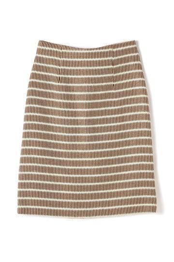 Unaca noir 幾何学ツイードスカート(セットアップ対象商品)