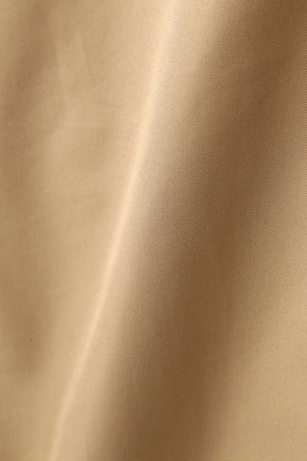 Luxluft ノーカラートレンチ