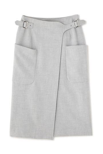 Unaca ピーチポケットスカート