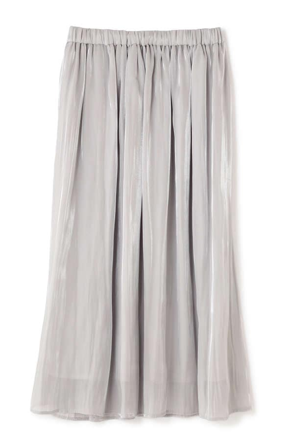 Unaca サテンギャザースカート