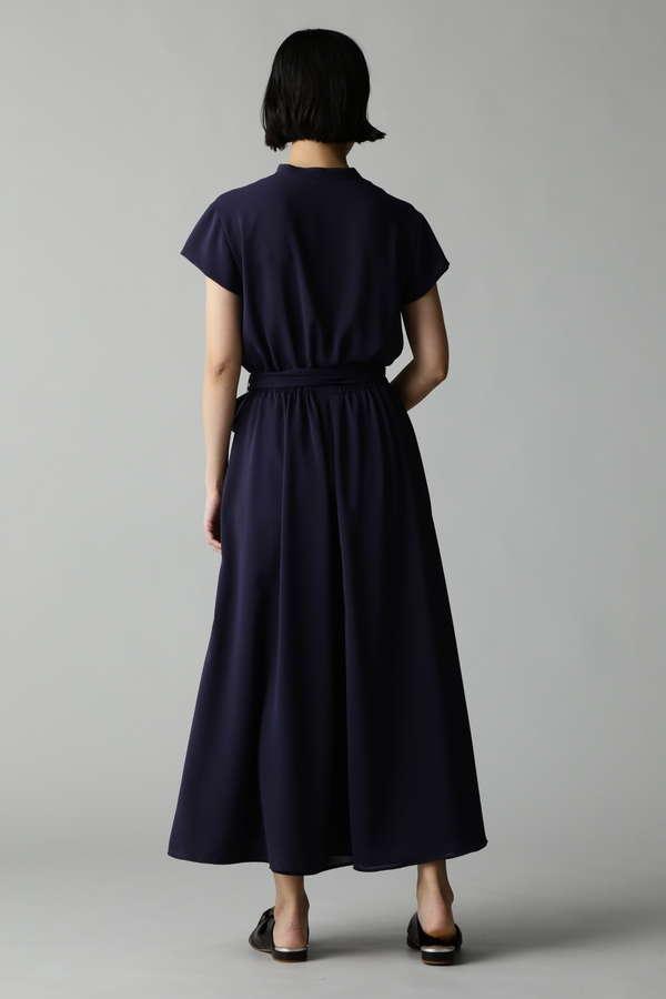 Fuhlen トリアセテートロングドレス