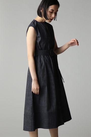 【スタイリング特集】Unaca ベルテッドワンピース