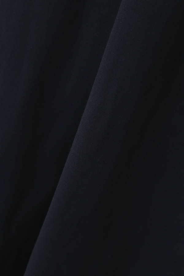 Unaca noir コットン天竺ノースリーブワンピース