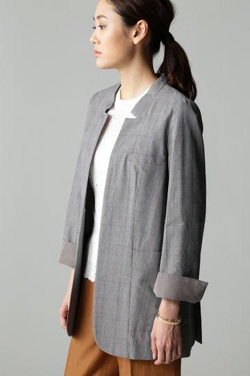 【LEE 3月号掲載】Unaca グレンチェックジャケット