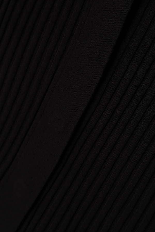 【BAILA 4月号掲載】[web限定ピンクカラー]Unaca ワイドリブカーディガン(アンサンブル対象商品)