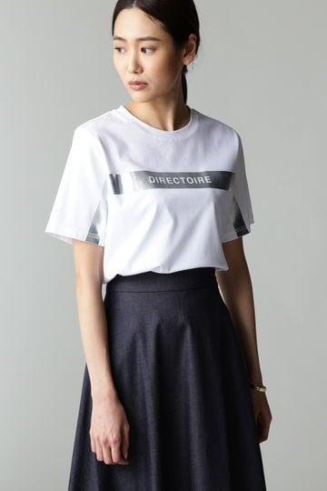 DIRECTOIRE オリジナルシルバーロゴTシャツ