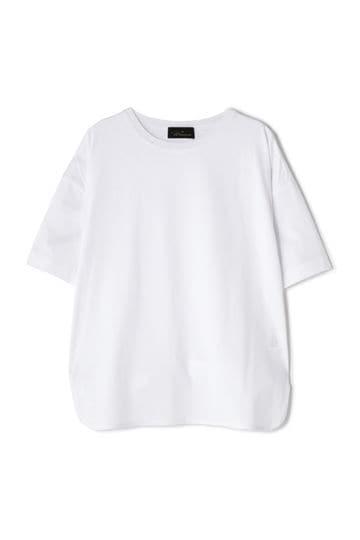 【着回しコーデ】【先行予約 6月上旬 入荷予定】Unaca noir コットン天竺Tシャツ