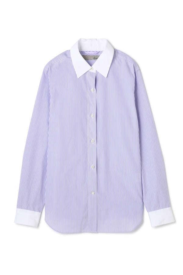 【MORE 3月号掲載】Luxluft パネル切替シャツ