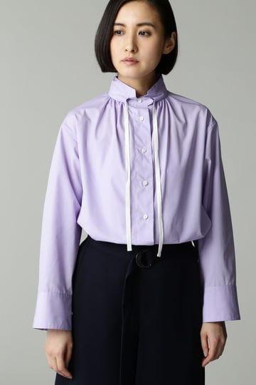 Luxluft スタンドカラーシャツ