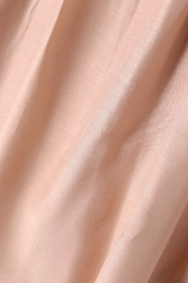 【MORE 6月号掲載】Unaca noir くるみボタン付ローンブラウス