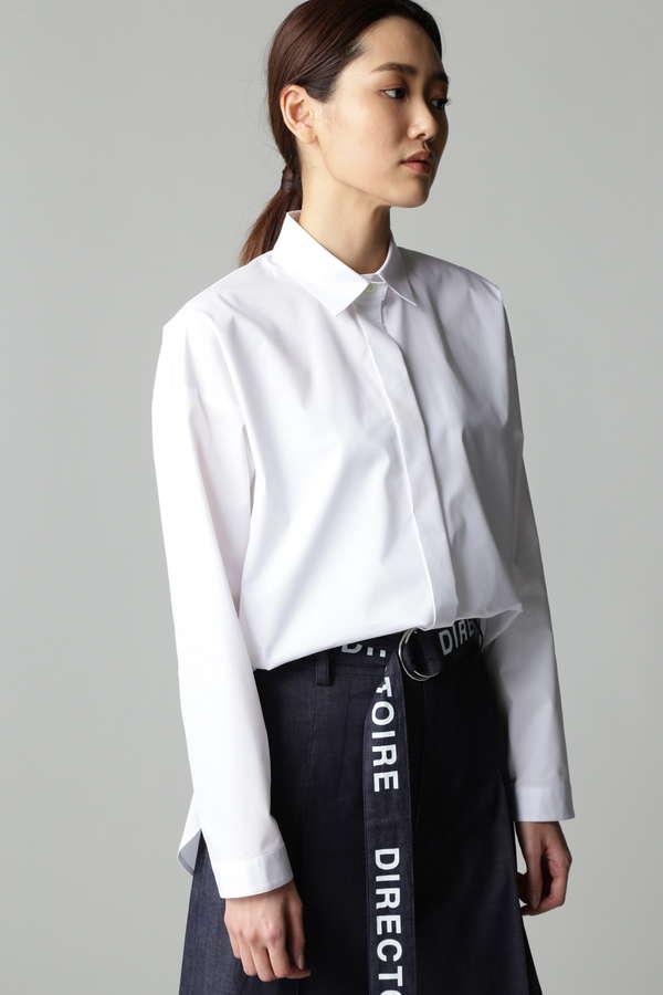 DIRECTOIRE サイドカシュクールシャツ
