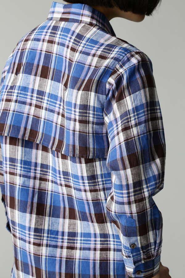 Luxluft リネンシャツ