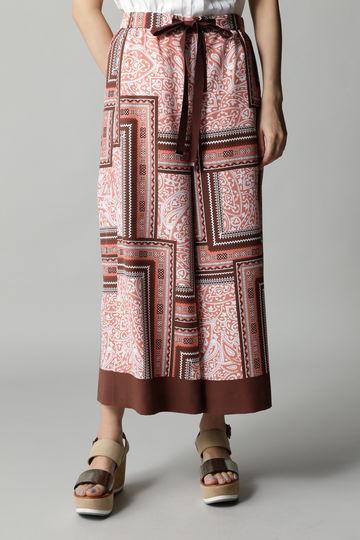 DIRECTOIRE スカーフプリントパンツ