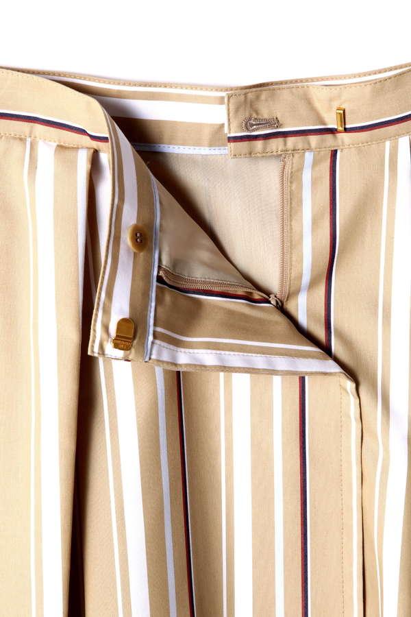 DIRECTOIRE マルチストライプレイヤードスカート