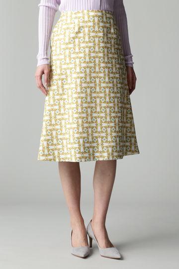 Unaca ジオメフラワースカート