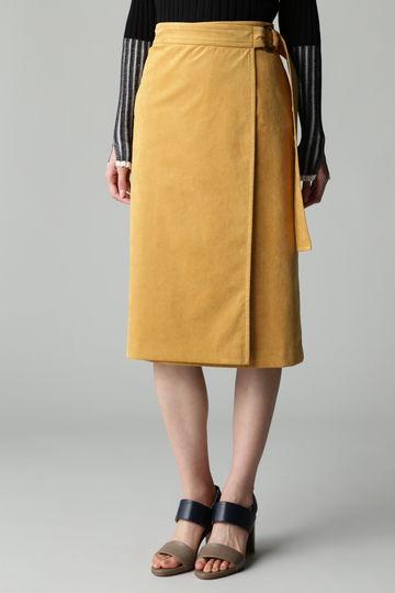 dunadix フェイクスエードベルトスカート
