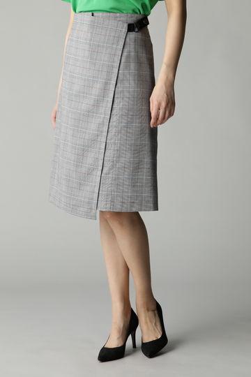 DIRECTOIRE チェックラップ風スカート
