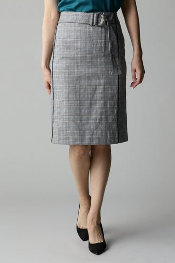 DIRECTOIRE チェックベルテッドスカート