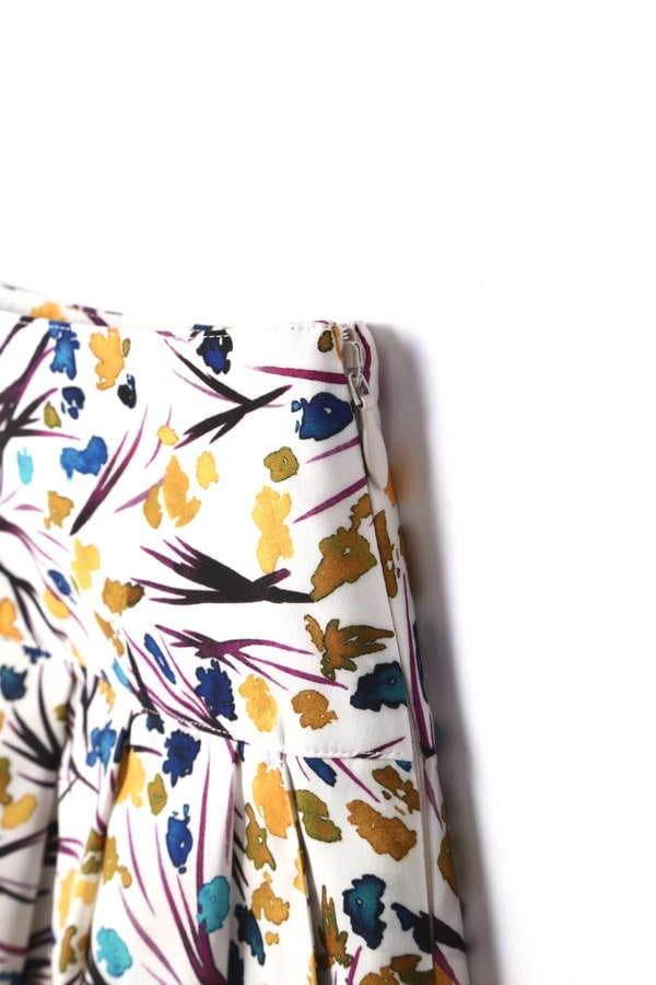 【先行予約 5月下旬 入荷予定】DIRECTOIRE 水彩フラワータックスカート