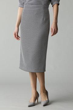 Unaca noir バスケット素材タイトスカート(セットアップ対象商品)