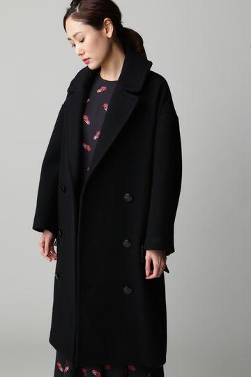 Unaca noir ビッグPコート