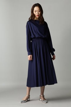 Fuhlen スムースギャザードレス