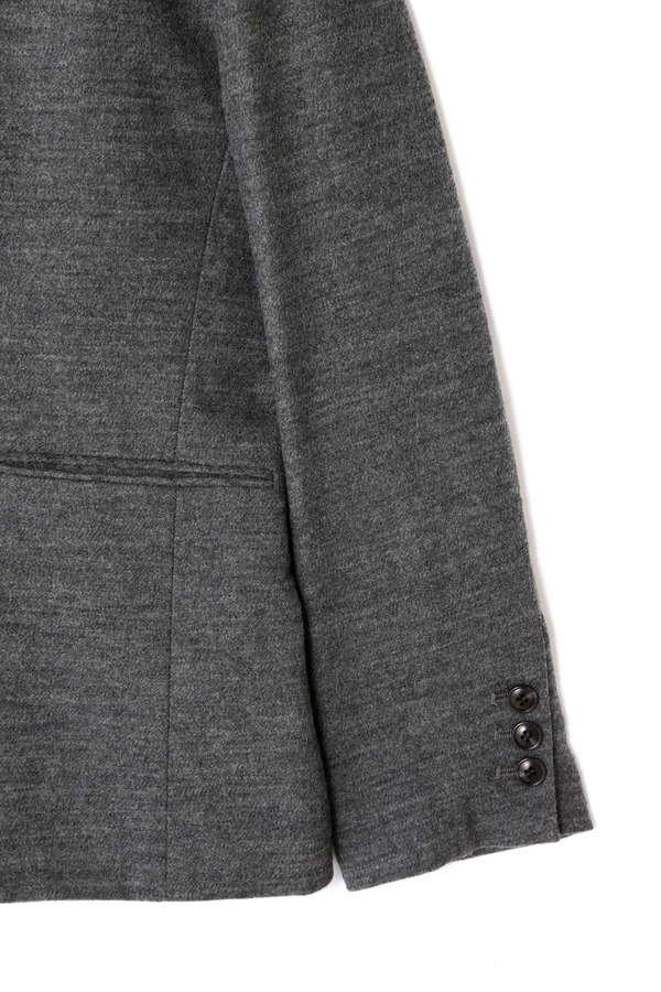 Unaca noir ノーカラージャケット