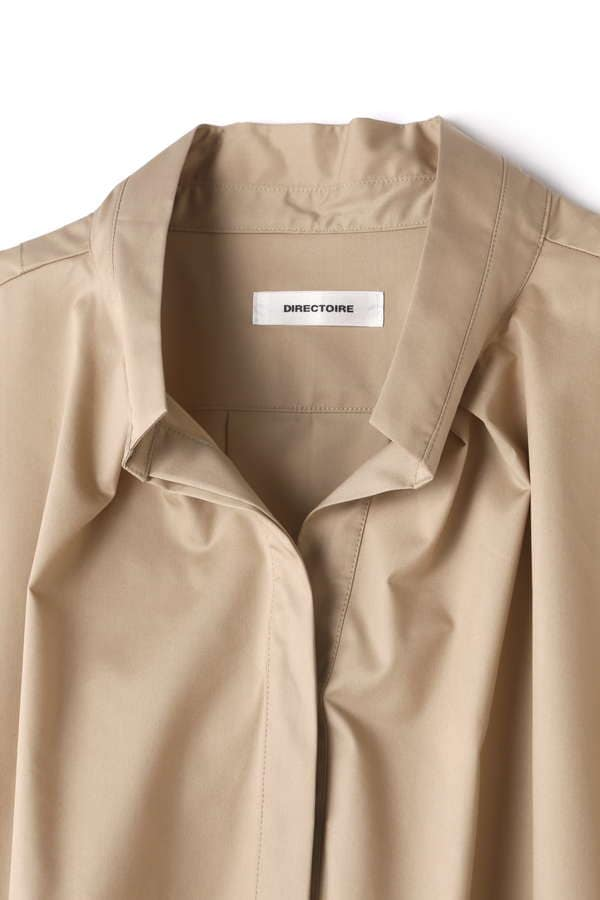 DIRECTOIRE サイドボタンスキッパーシャツ