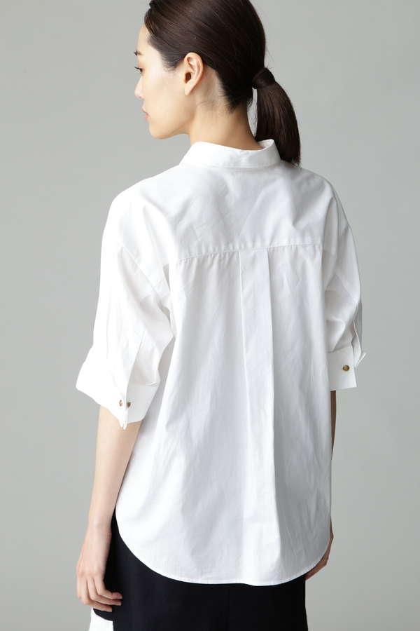 Fuhlen 五分袖フレンチシャツ