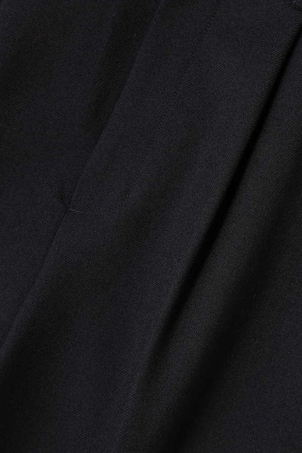Unaca noir ドライウールタックパンツ