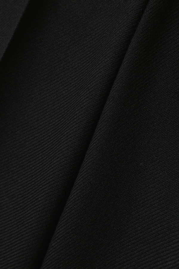 Unaca noir サージワイドパンツ