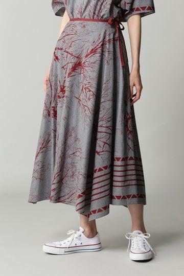 【先行予約 8月中旬 入荷予定】Hermaphrodite ランダムサーキュラースカート