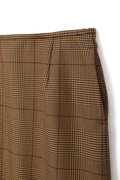 【ELLE online掲載】Unaca チェック×レースタイトスカート