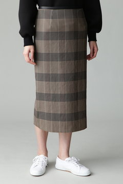dunadix チェックタイトスカート