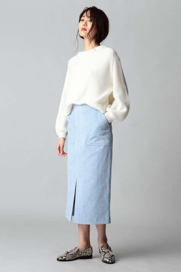 dunadix コーデュロイタイトスカート