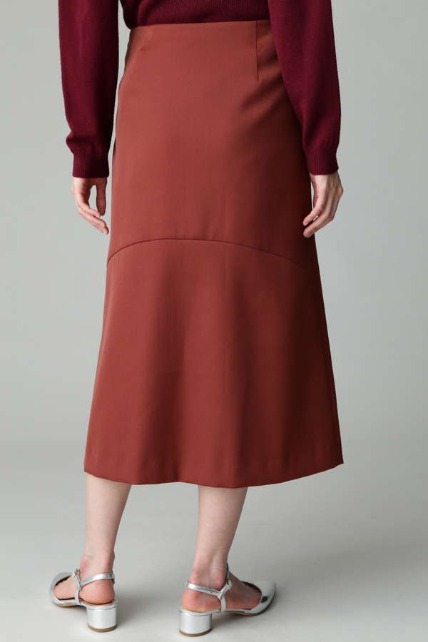 【In Red 10月号掲載】DIRECTOIRE ダブルクロスレースアップスカート