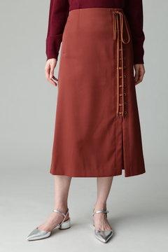 DIRECTOIRE ダブルクロスレースアップスカート