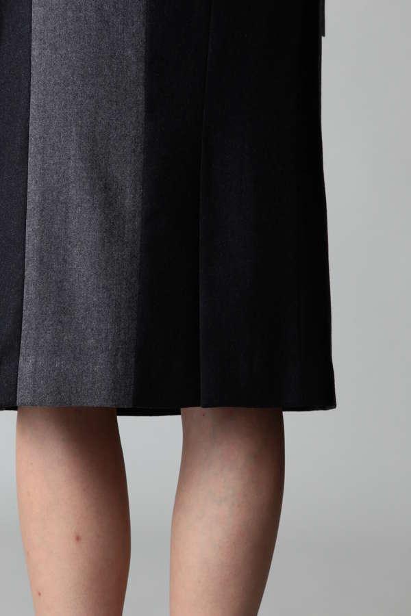 DIRECTOIRE カラーブロックタイトスカート