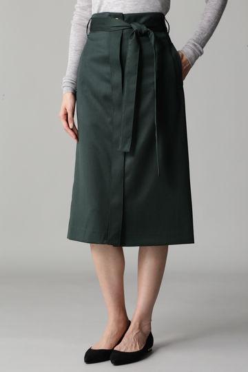 Unaca noir ベルトスカート