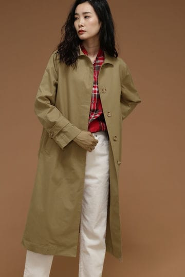 Luxluft ステンカラーコート