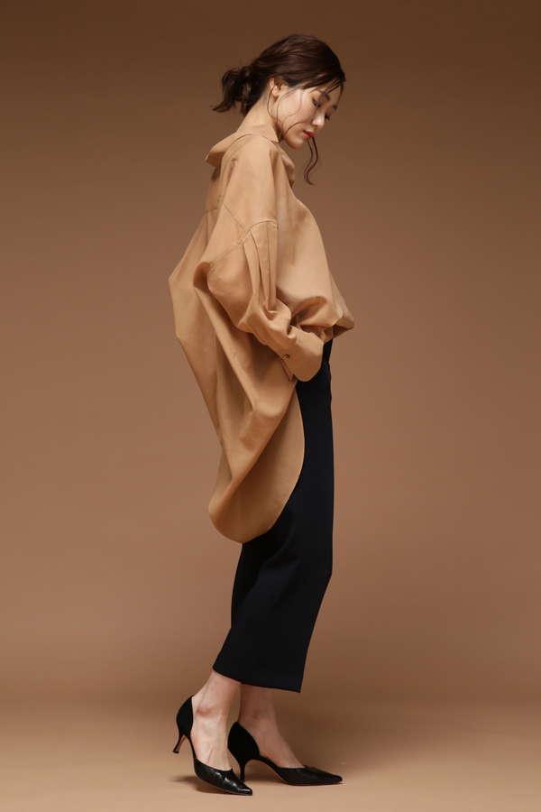 dunadix オーガンジービックシャツ