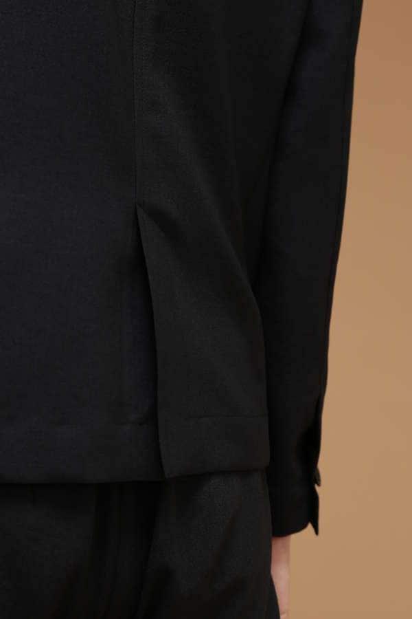Luxluft ストレッチワンボタンジャケット