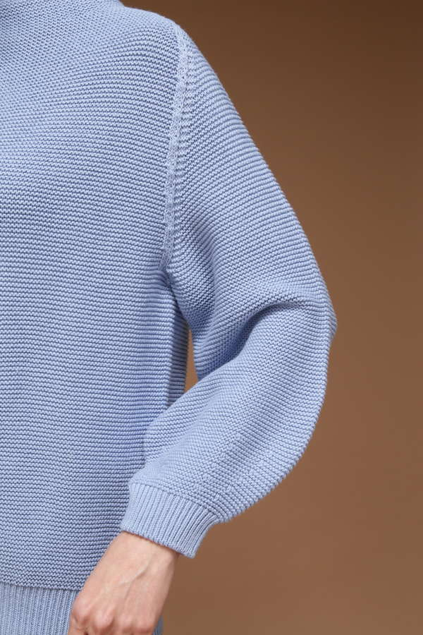 dunadix 7Gガータ編みホールガーメントプルオーバー