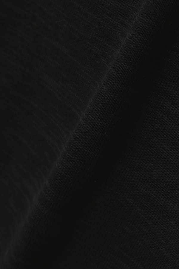袖ガーター編みプルオーバー