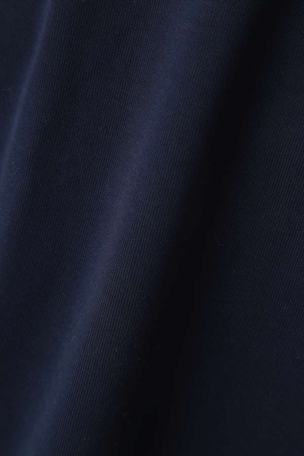 Unaca noir ハイネックジャージープルオーバー