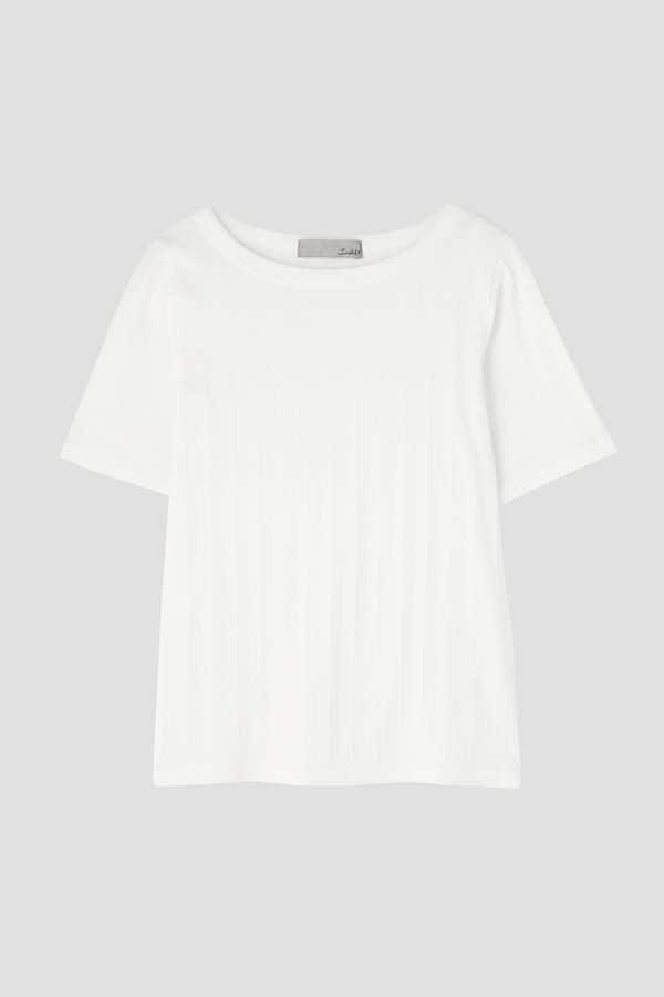 ワイドリブTシャツ
